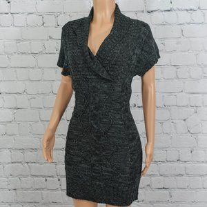 Love Change black knit sweater dress